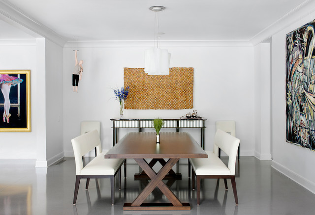 Northshore Residence Contemporary Dining Room