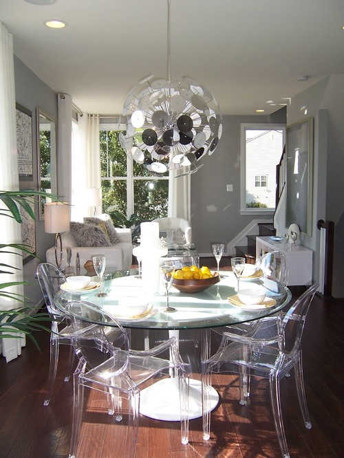 Cup half full spooky decor for Dining room design trends