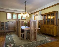 Novack craftsman-dining-room
