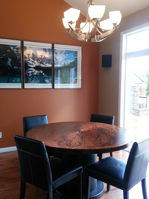 Nw interiors upgrade modern dining room portland for Dining room upgrades