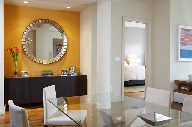 NY Condo traditional-dining-room