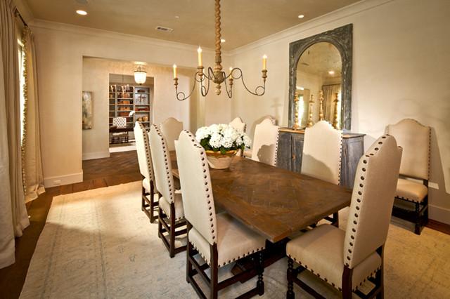 Oak lane showcase traditional dining room houston for Dining room showcase