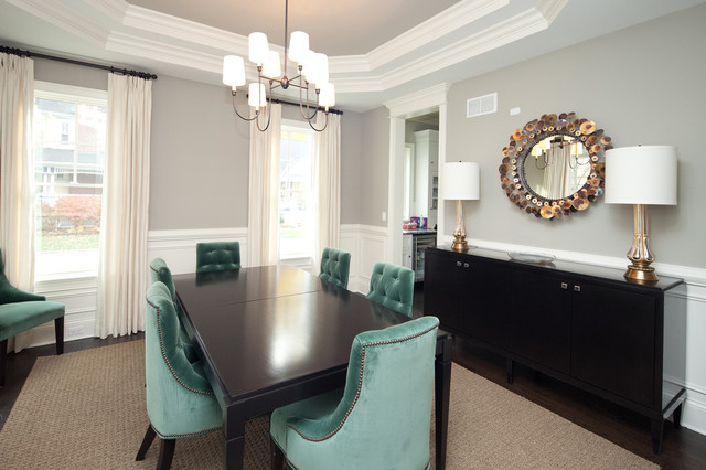 Oakley Home Builders traditional-dining-room