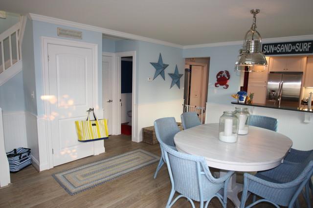 Ocean City Beach House tropical-dining-room
