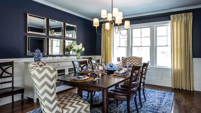 Ocean edge custom home dining room modern dining for Gmt home designs inc