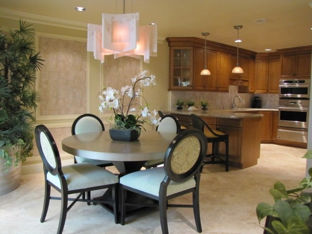 Ocean Ridge Yacht Club transitional-dining-room