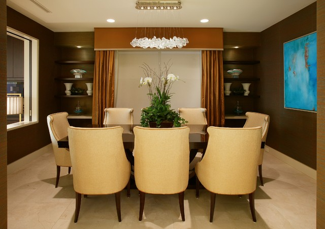 Oceanway contemporary-dining-room