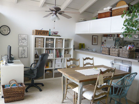 Office Dining Room Combo Eclectic