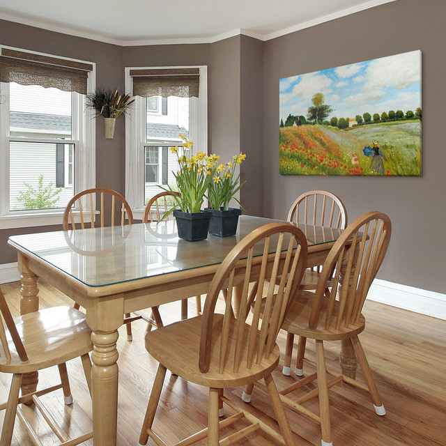 Oil Paintings For Dining Rooms Traditional Room
