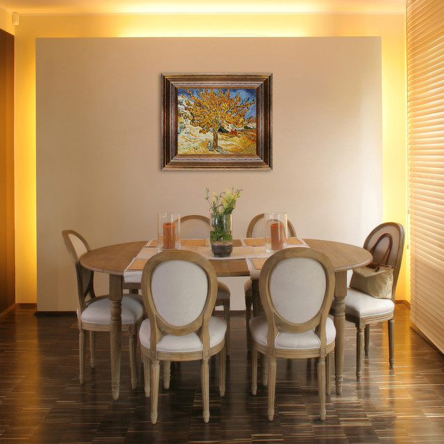 Oil paintings for dining rooms contemporary dining for Modern paintings for dining room