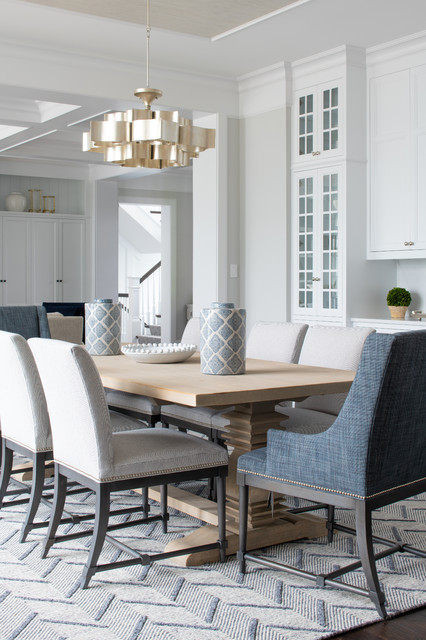 Old Beach Road transitional-dining-room