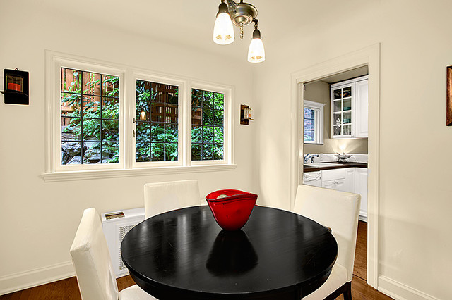 Old Charm Condo On Capitol Hill - Seattle contemporary-dining-room