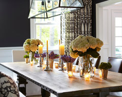 Old Westbury Neoclassical transitional-dining-room
