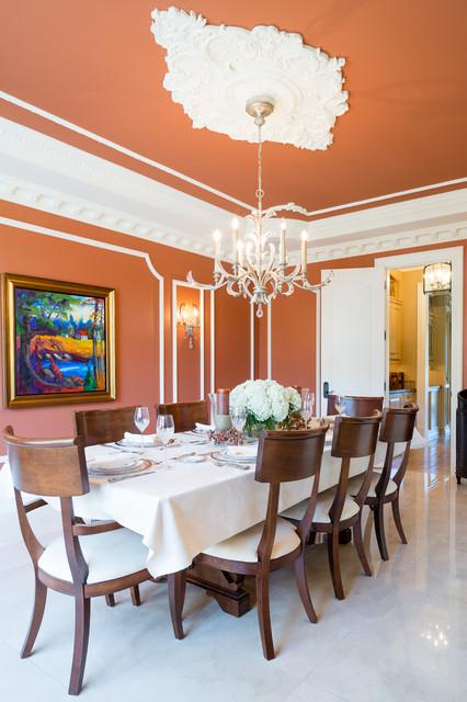 Old World Elegance Traditional Dining Room Toronto