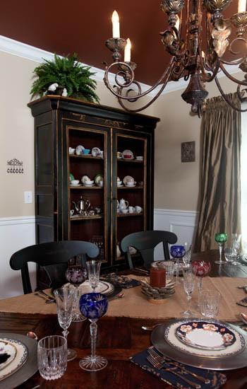 Old World Elegance eclectic-dining-room