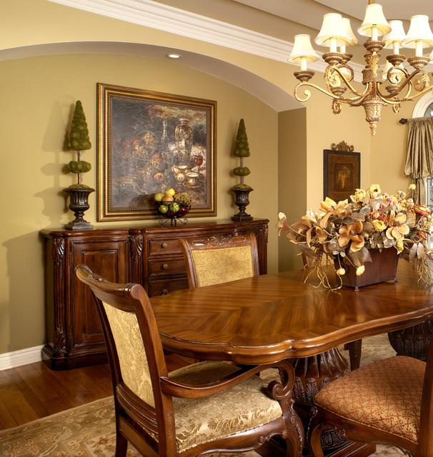 Old World Elegance Traditional Dining Room Detroit