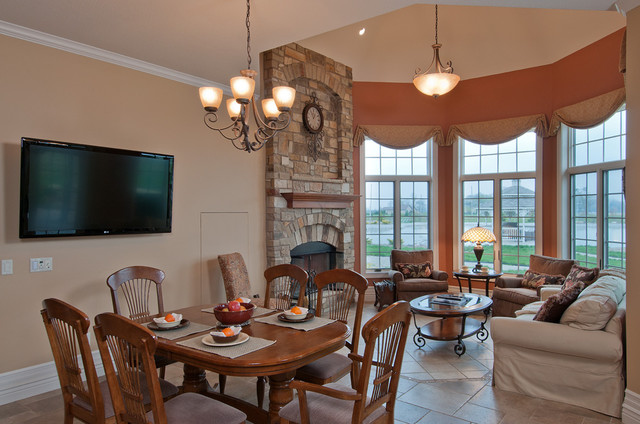 Old World European Traditional Dining Room Other