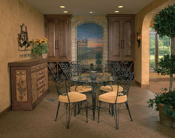 Old World Mediterranean Dining Room Chicago By