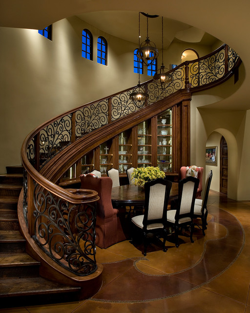 Old world chandler traditional dining room phoenix for Interior designs decor llc