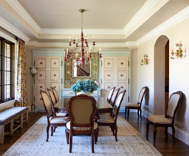 Old World Style Greenwood Village Residence Traditional