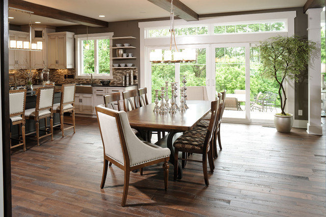 modern dining room by Weaver Custom Homes