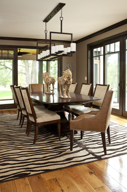 Olstad Drive Residence Dining Room contemporary dining room