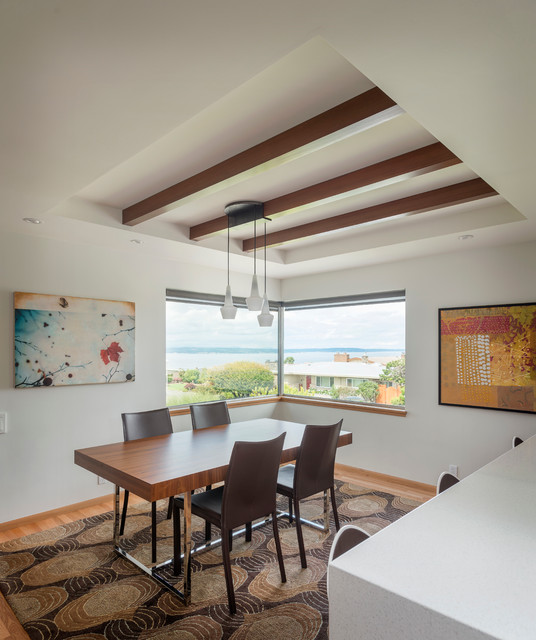 Olympic Manor Residence/ Interior Remodel contemporary-dining-room