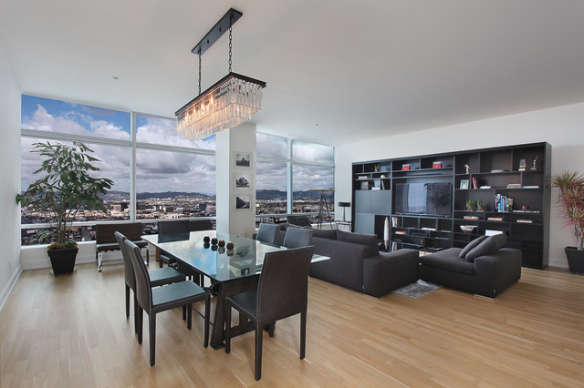 Olympic Contemporary Dining Room Los Angeles By