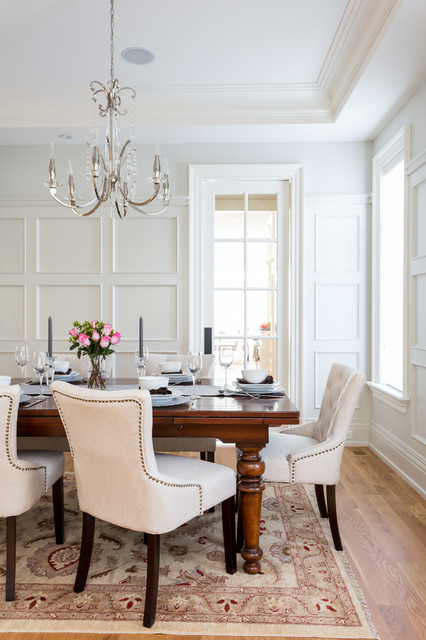 Onaway Residence traditional-dining-room