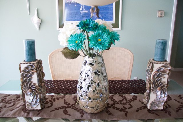 One Day Update transitional-dining-room