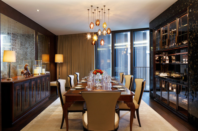 One Hyde Park Knightsbridge Tropical Dining Room