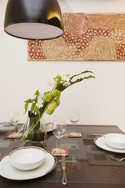 One Robinson Place - Minimalistic Design with an Artistic Touch contemporary-dining-room