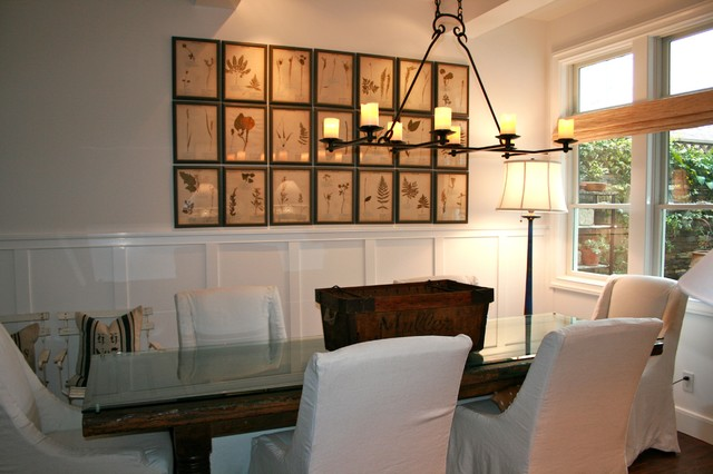 open and airy dining room beach-style-dining-room