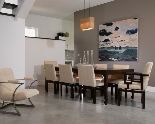 Open Concept Dining Room Modern Dining Room