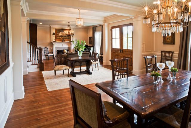 Open Entry - Living/Dining Room - Traditional - Dining Room - Nashville - by Scott Wilson ...
