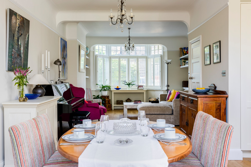 Open Plan Terraced House Eclectic Dining Room London By Anna Auzins Interiors Ltd