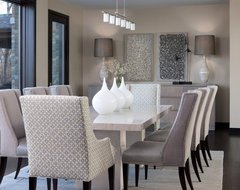 Orchard Lake Residence contemporary-dining-room