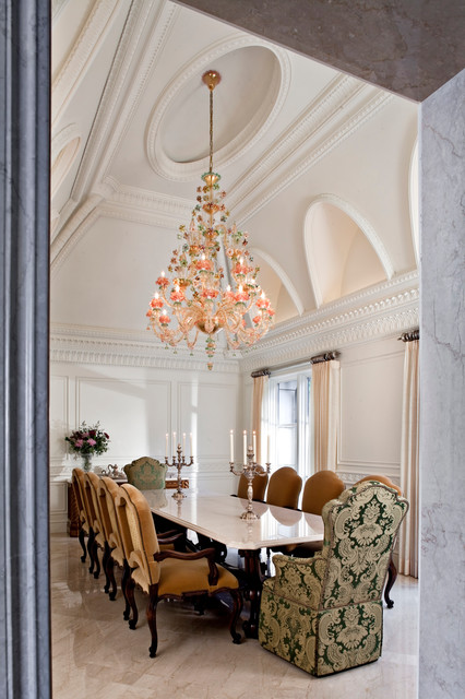 Orchard lake Residence - Traditional - Dining Room - detroit - by McIntosh Poris Associates