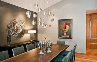 Organic Modern traditional-dining-room