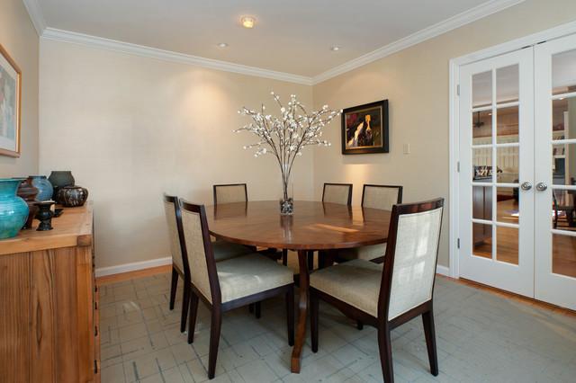 Orinda Eastern Fusion contemporary-dining-room