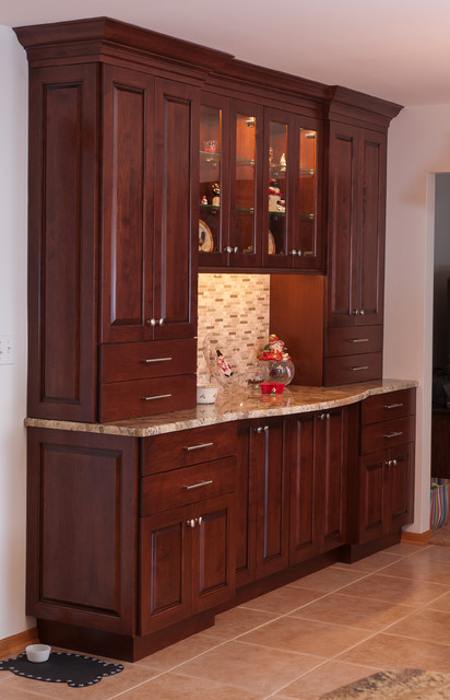 Orland Park Kitchen traditional-dining-room