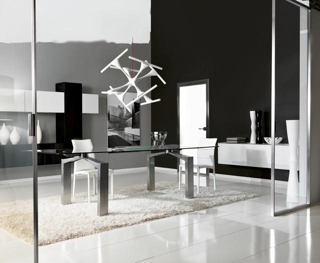 Our Architectural Room divider panels & Designer Doors modern-dining-room