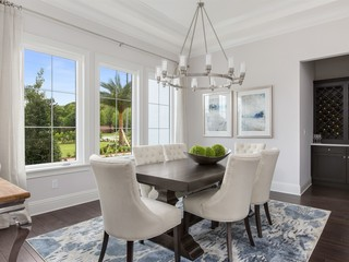 Our Latest Home Windermere Fl Transitional Dining