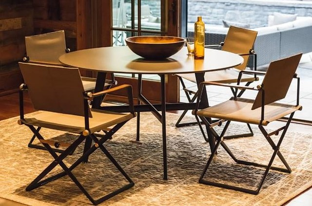 Outdoor Furniture By Dedon Beach Style Dining Room raleigh by Rodolfo