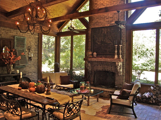 Outdoor Living traditional-dining-room