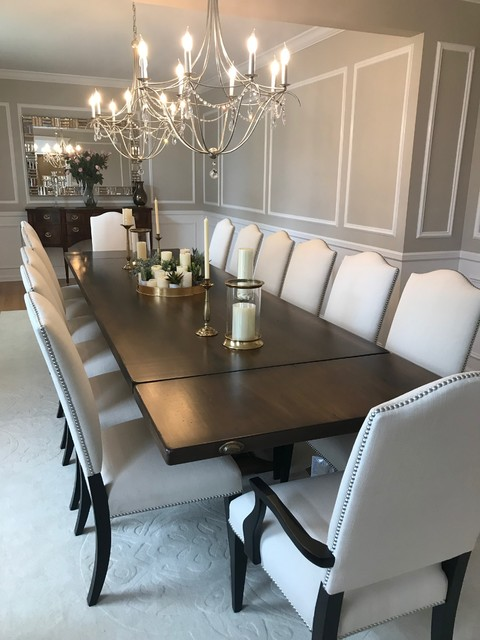 Oversize Dining Table With Stately Appeal -- Marty Holick ...