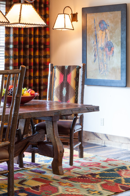Owl Creek traditional-dining-room