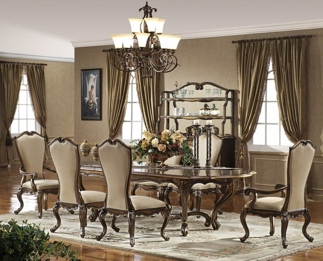oxford dining set traditional dining room other metro by