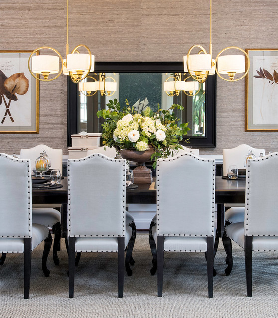Oxfordshire at Willowsford by K. Hovnanian Homes transitional-dining-room