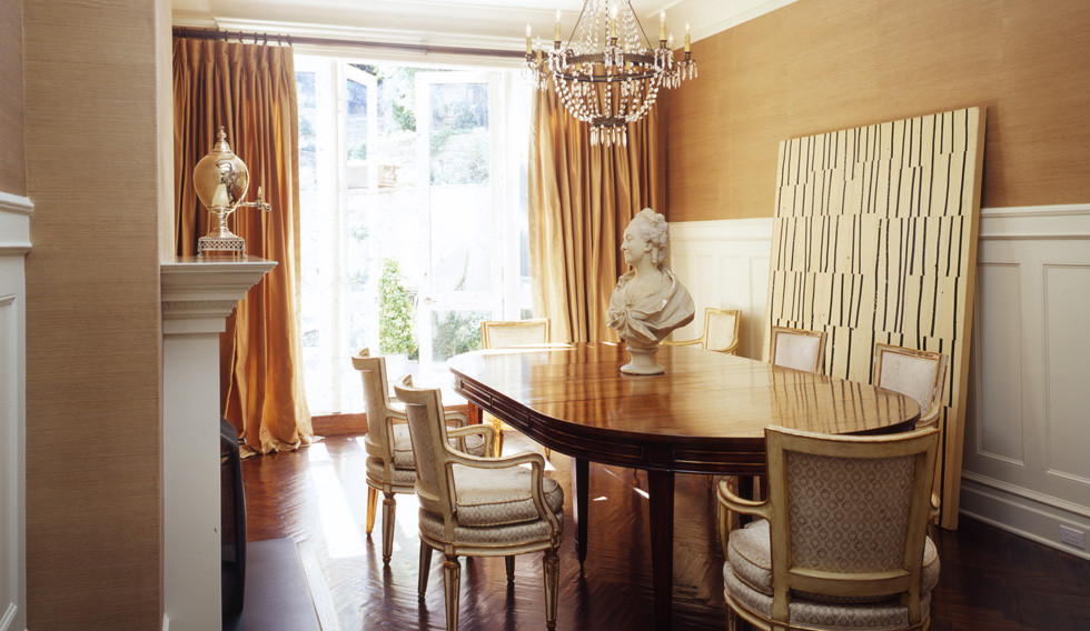 Elegant dining room photo in San Francisco
